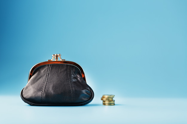 black-wallet-with-coins-on-blue-budget-for-investment-in-the-future_94046-4597