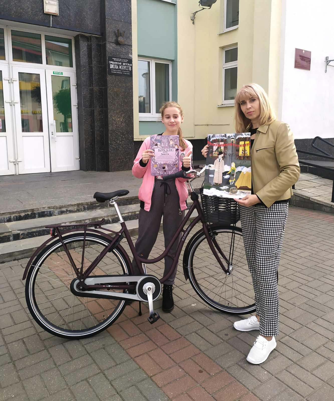 подарок  велосипед из Дании